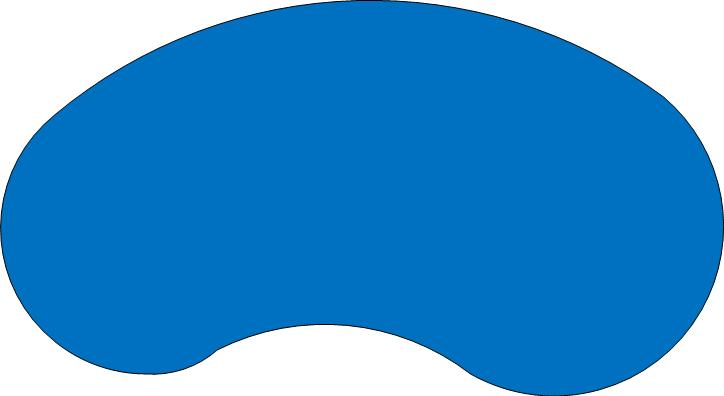 724x396 Pool Clipart Kidney Shape
