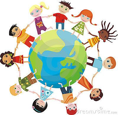 Kids Around The World Clipart
