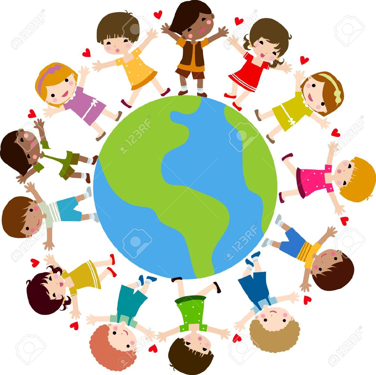 1300x1296 Child Clipart Circle