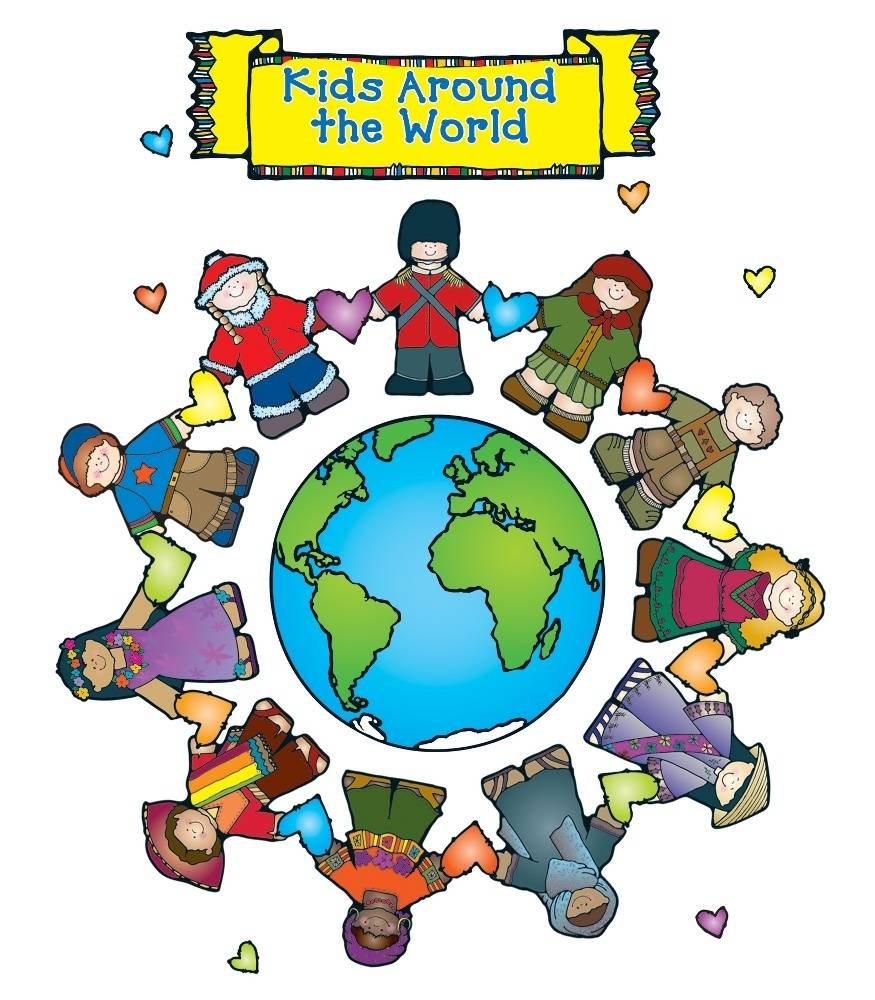 875x1000 Kids Around The World Bulletin Board Set Grade Pk 2 Carson