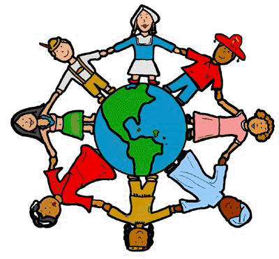 400x371 Free Clipart Children Around The World