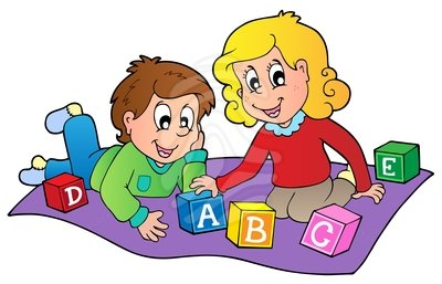 Kids At Play Clipart