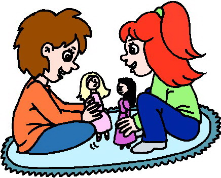 436x352 Babies Playing Clipart
