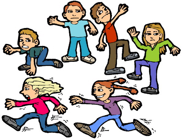 598x456 Children Playing Clipart