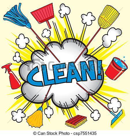 450x470 Clean Bedroom Clipart
