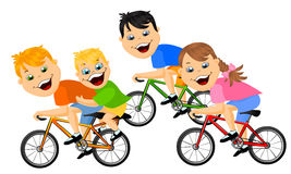 267x160 Kids On Bike Clip Art Clipart