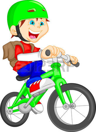 328x450 Pushbike Clipart Riding Bike