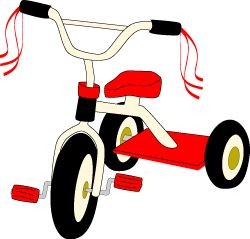 250x239 Tricycle Clip Art , Summer Toys Graphics Clipart