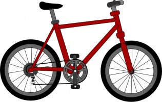 Kids Bike Clipart