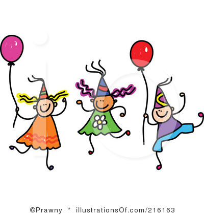 400x420 Clip Art Birthday Party Clipart