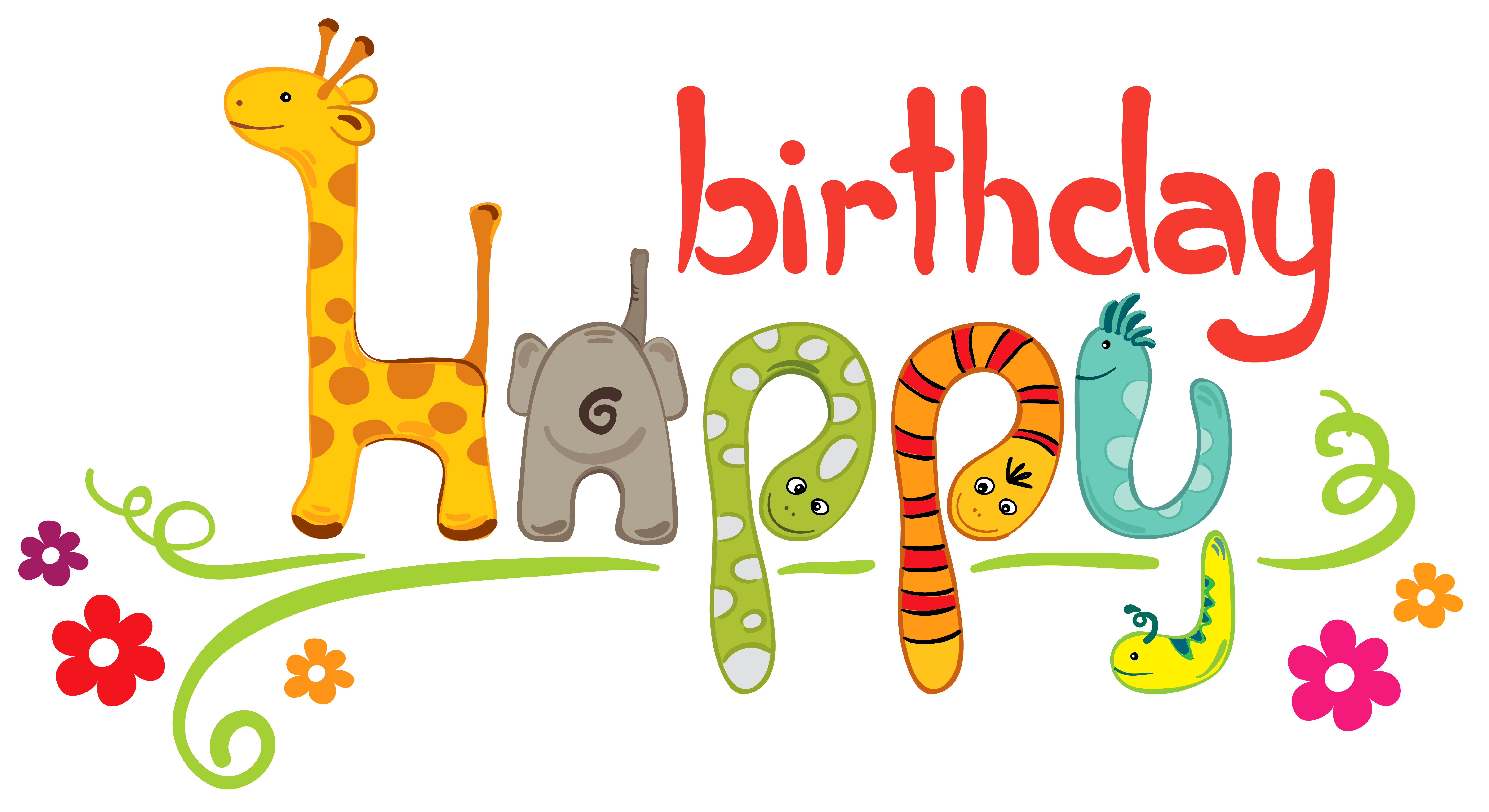 6292x3431 Clipart Birthday For Kids