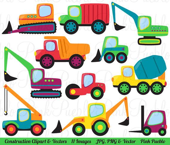 570x485 Construction Transportation Clipart Clip Art Vectors, Great for