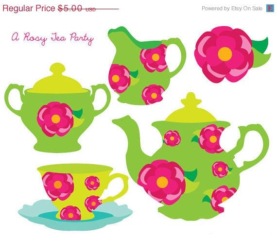 570x490 42 Best Tea Party Images Birthday Invitations