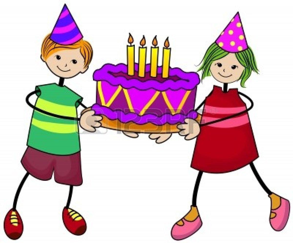 1200x996 Kids Birthday Party Clip Art