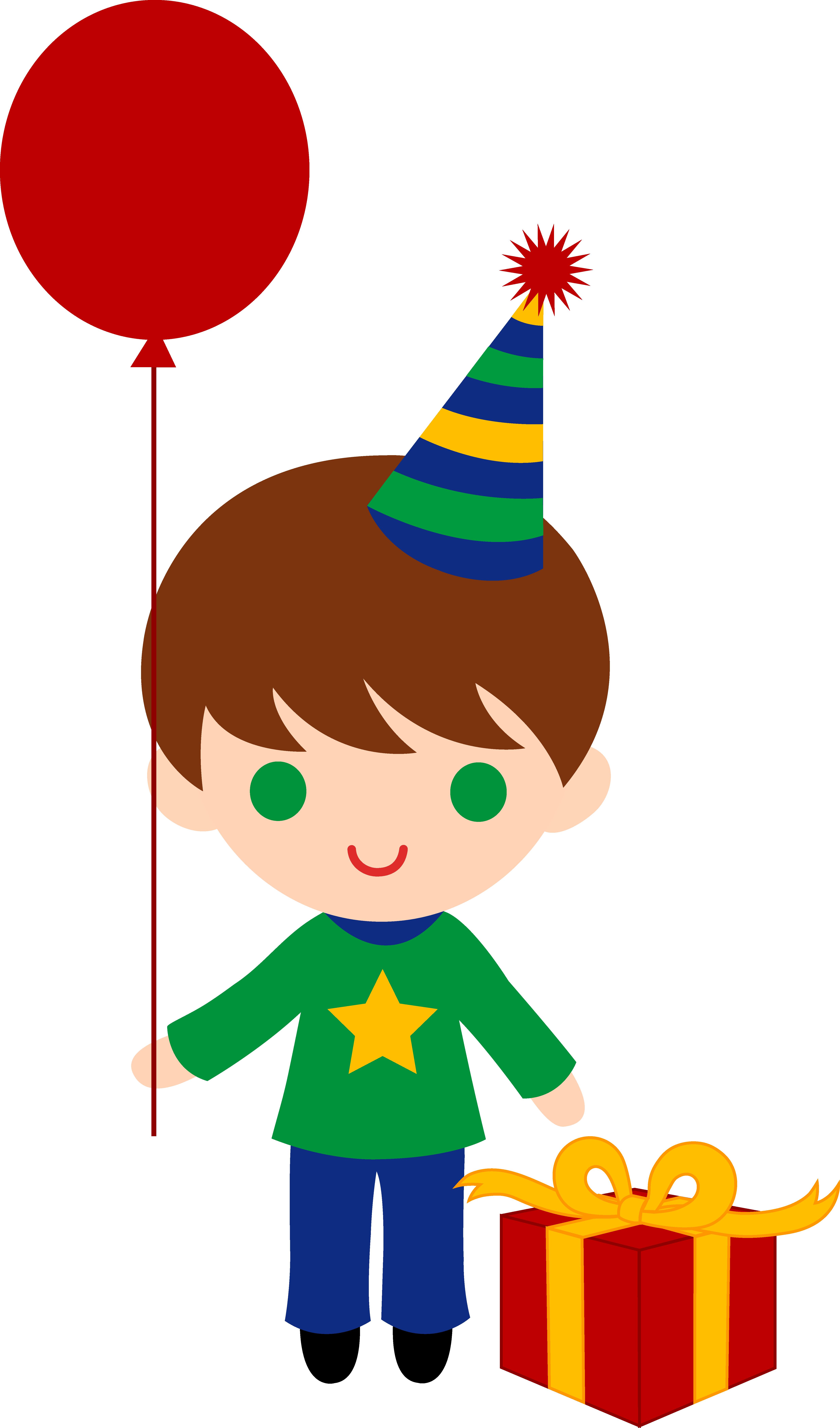 4949x8408 Little Birthday Boy Clip Art