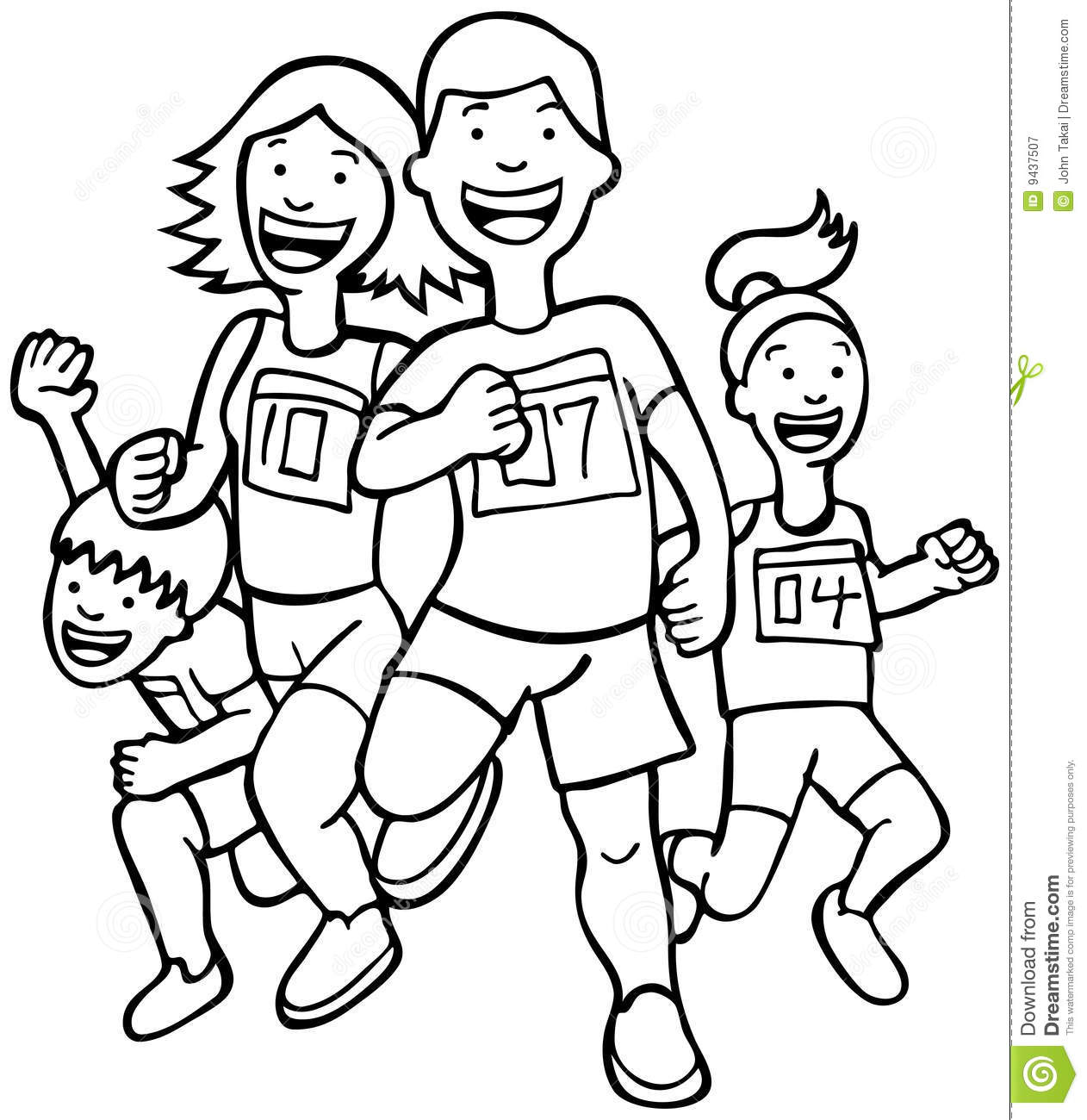 1262x1300 Exercise Running Clipart Black And White