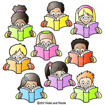 350x350 Reading Kids Reading Clipart Holding Book Clip Art By Violet
