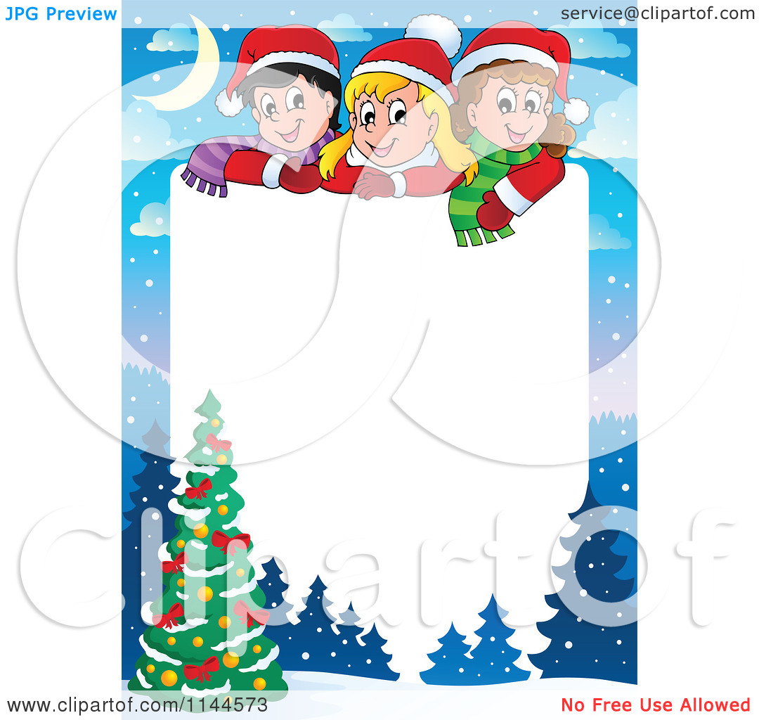 1080x1024 Kids holiday printable clipart