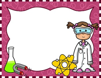350x270 Science Kids Clipart Borders amp Frames