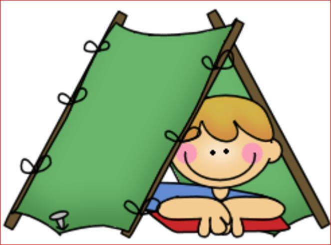 663x491 Camper clipart kid campfire