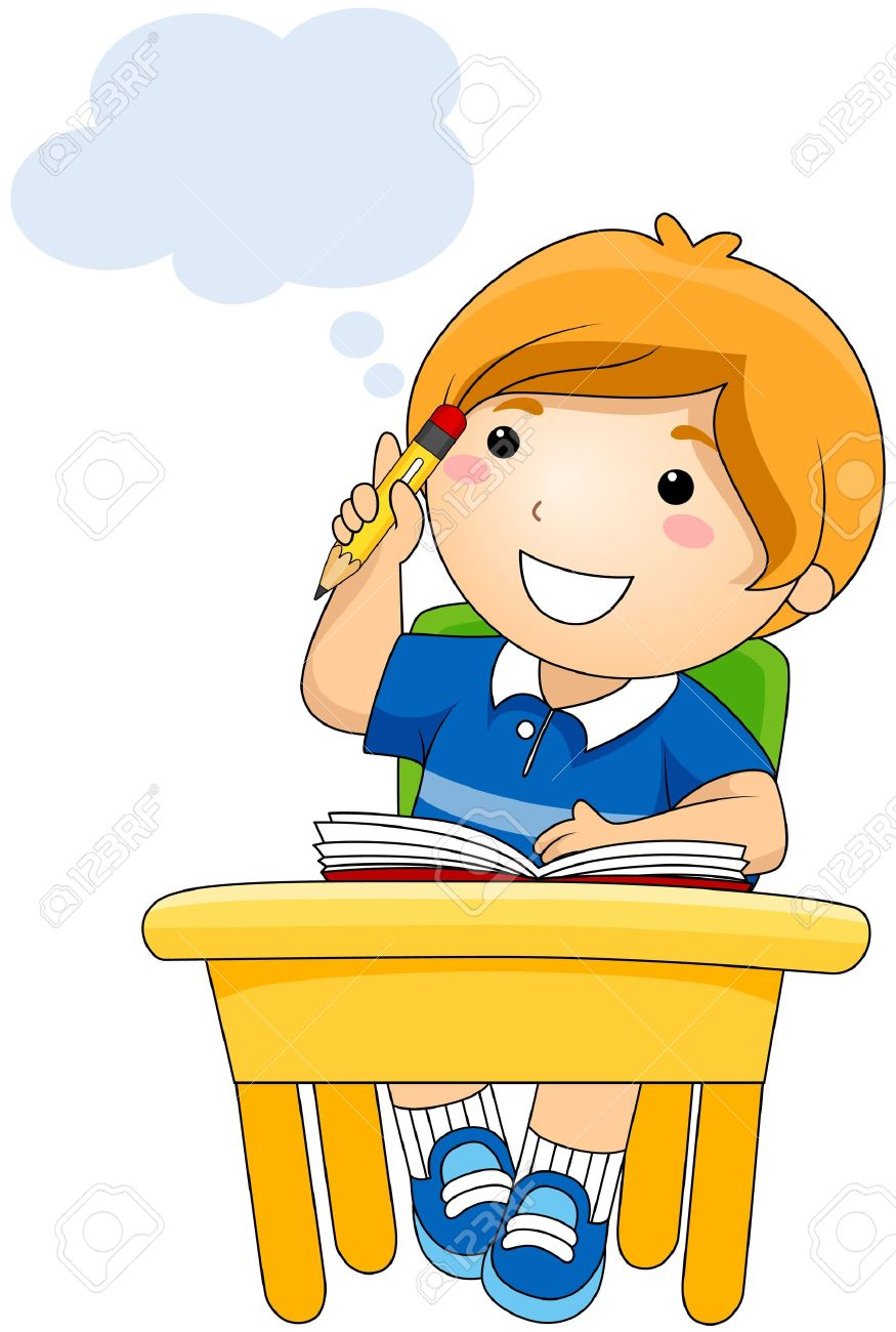 875x1300 Kid Thinking Clip Art Many Interesting Cliparts