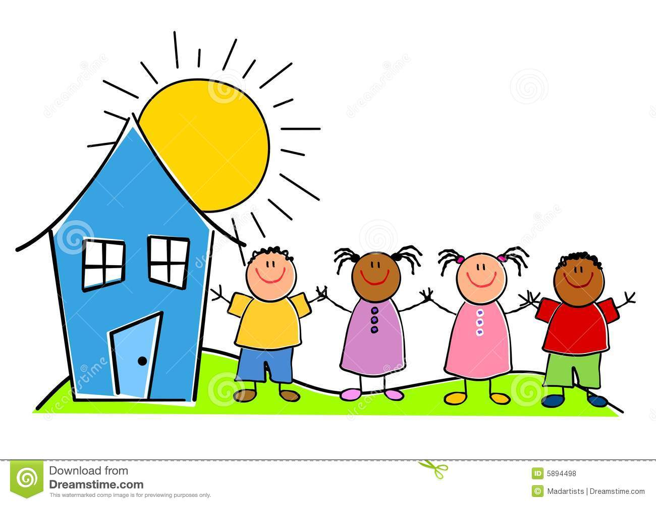 1300x1000 Drawing Clipart Children'S