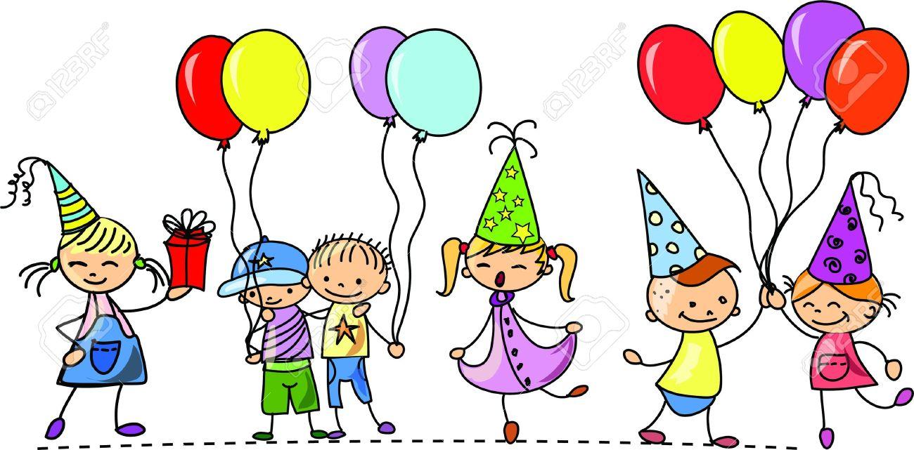 1300x641 Birthday Clipart Children'S