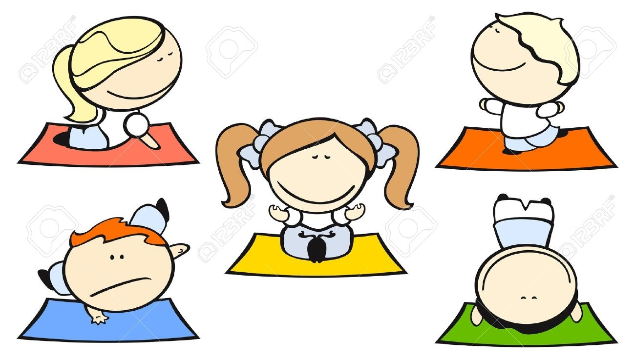 1300x736 Kids Doing Yoga Clipart