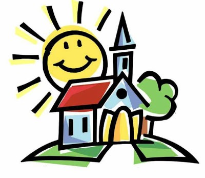 400x347 Religious Clipart Kids Church