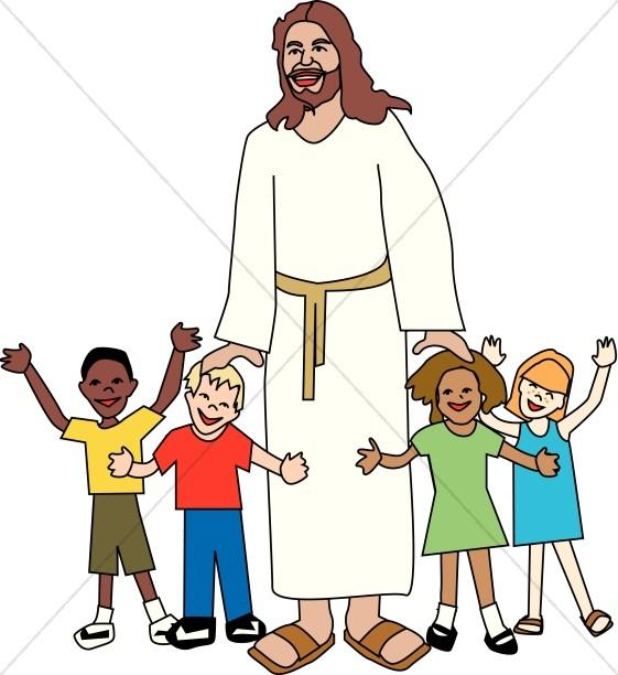 561x612 Church Kids Clipart