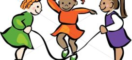 272x125 Kids Jumping Rope Clip Art