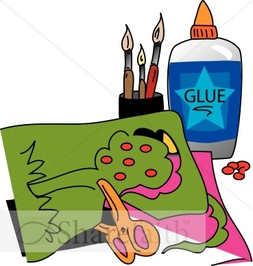 369x388 Arts And Crafts With Glue Children's Church Clipart Kid Church