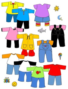 270x350 In Action Paper Doll Clothes Booster Pack 1 Clip Art 99 Pngs