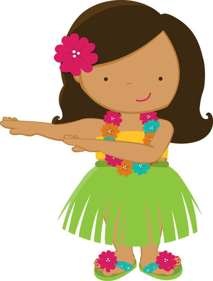 736x971 Hawaiian Dancer Clipart