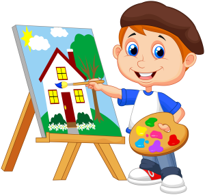 300x285 Painting Clipart
