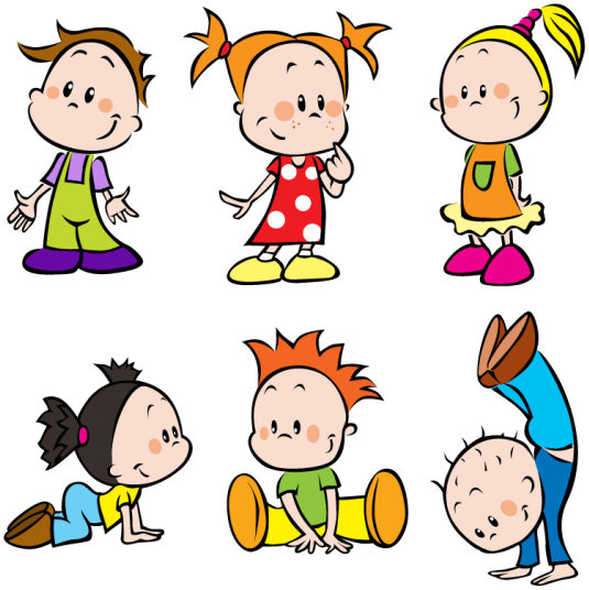 535x536 Cartoon Children Clip Art Free Vector Download (214,275 Free