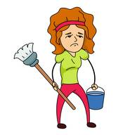195x192 Household Chores Clipart