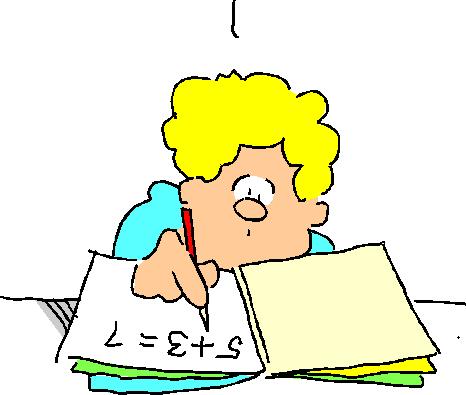466x395 Child Doing Homework Clipart Clipartfest 2