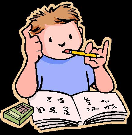 438x449 Doing Homework Homework Clip Art For Kids Free Clipart Images