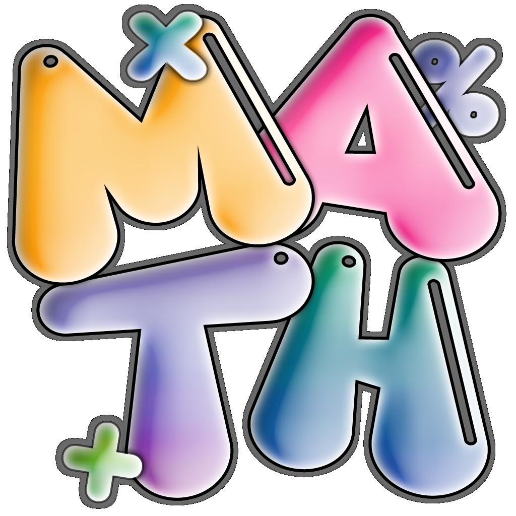 1024x1024 Math Clip Art