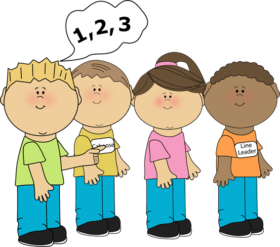 567x500 Children Learning Math Clipart