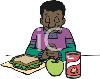 Kids Eating Clipart