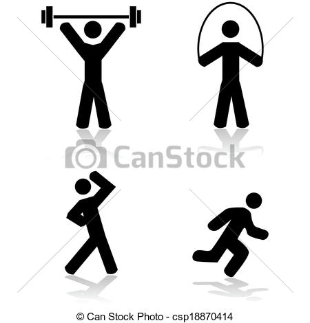 450x470 Exercises Clipart