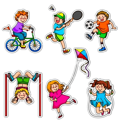 380x400 Toddlers Exercising Cliparts 268340