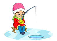 195x141 Ice Fishing Clipart Many Interesting Cliparts