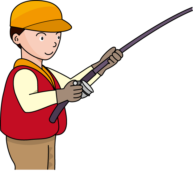 625x553 Image Of Boy Fishing Clipart