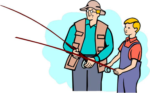 600x373 Kids Fishing Clipart Cliparts And Others Art Inspiration