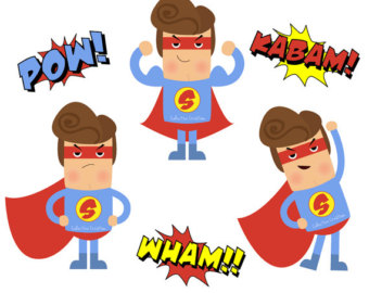 340x270 Superhero Clip Art Kids Free Clipart Images Baby
