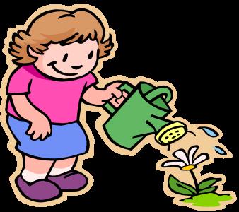 Kids Gardening Clipart | Free download best Kids Gardening