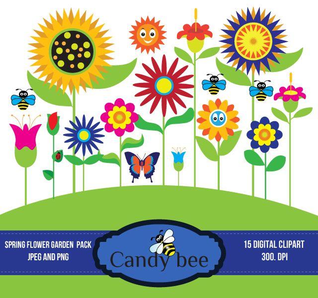 640x600 Garden Spring Clipart, Explore Pictures